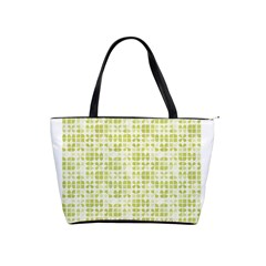 Pastel Green Shoulder Handbags by FunkyPatterns