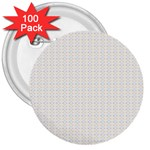 Pastel Pattern 3  Buttons (100 pack)
