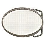 Pastel Pattern Belt Buckles