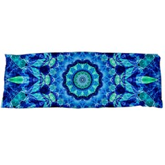 Blue Sea Jewel Mandala Body Pillow Case (Dakimakura) by Zandiepants