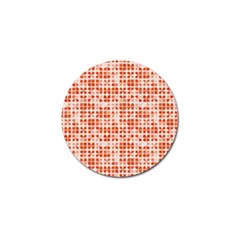 Pastel Red Golf Ball Marker by FunkyPatterns
