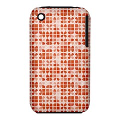 Pastel Red Apple Iphone 3g/3gs Hardshell Case (pc+silicone) by FunkyPatterns