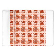 Pastel Red Samsung Galaxy Tab 10 1  P7500 Flip Case by FunkyPatterns