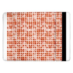 Pastel Red Samsung Galaxy Tab Pro 12 2  Flip Case by FunkyPatterns