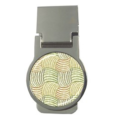 Pastel Sketch Money Clips (round)  by FunkyPatterns