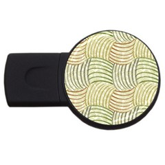 Pastel Sketch Usb Flash Drive Round (4 Gb)  by FunkyPatterns