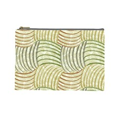 Pastel Sketch Cosmetic Bag (large)  by FunkyPatterns