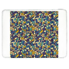Pastel Tiles Samsung Galaxy Tab 7  P1000 Flip Case by FunkyPatterns