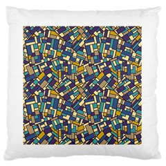 Pastel Tiles Standard Flano Cushion Case (one Side) by FunkyPatterns