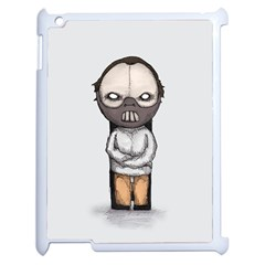 Dr. Lecter Apple iPad 2 Case (White) by lvbart