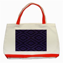 Reboot Computer Glitch Classic Tote Bag (red) by MRTACPANS
