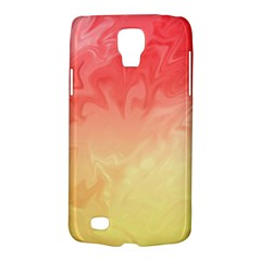 Ombre Orange Yellow Galaxy S4 Active by BrightVibesDesign