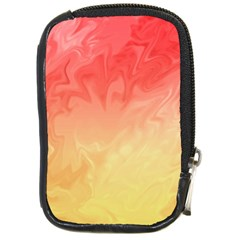 Ombre Orange Yellow Compact Camera Cases by BrightVibesDesign