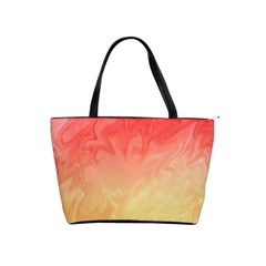 Ombre Orange Yellow Shoulder Handbags by BrightVibesDesign