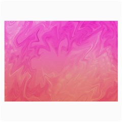 Ombre Pink Orange Large Glasses Cloth by BrightVibesDesign