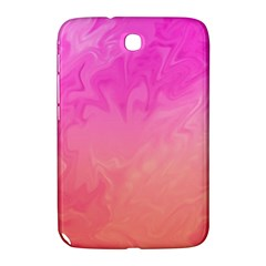 Ombre Pink Orange Samsung Galaxy Note 8 0 N5100 Hardshell Case  by BrightVibesDesign