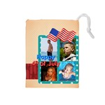 usa - Drawstring Pouch (Medium)