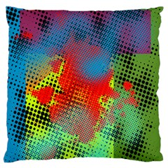 Tiling Lines 5 Standard Flano Cushion Case (Two Sides) by NotJustshirts