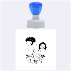 Inconceivable Rubber Round Stamps (Large) by lvbart