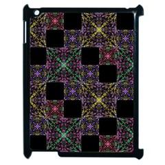Ornate Boho Patchwork Apple Ipad 2 Case (black) by dflcprints