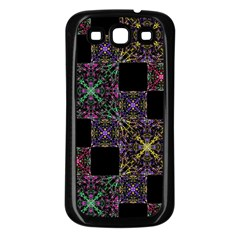 Ornate Boho Patchwork Samsung Galaxy S3 Back Case (black) by dflcprints