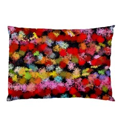Colorful Brush Strokes                                             			pillow Case by LalyLauraFLM