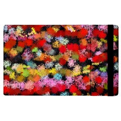 Colorful Brush Strokes                                             			apple Ipad 2 Flip Case by LalyLauraFLM