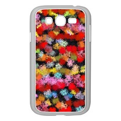 Colorful Brush Strokes                                             			samsung Galaxy Grand Duos I9082 Case (white) by LalyLauraFLM