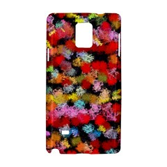 Colorful Brush Strokes                                             			samsung Galaxy Note 4 Hardshell Case by LalyLauraFLM