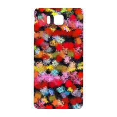 Colorful Brush Strokes                                             			samsung Galaxy Alpha Hardshell Back Case by LalyLauraFLM