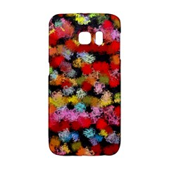 Colorful Brush Strokes                                             			samsung Galaxy S6 Edge Hardshell Case by LalyLauraFLM