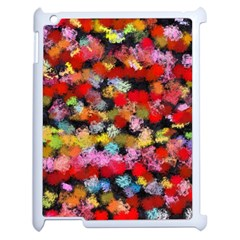 Colorful Brush Strokes                                             			apple Ipad 2 Case (white) by LalyLauraFLM