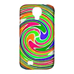 Colorful Whirlpool Watercolors                                                samsung Galaxy S4 Classic Hardshell Case (pc+silicone) by LalyLauraFLM