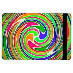 Colorful Whirlpool Watercolors                                                			apple Ipad Air 2 Flip Case by LalyLauraFLM