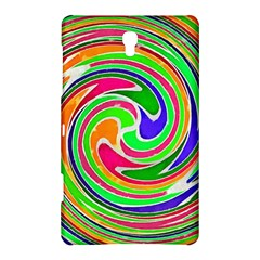 Colorful Whirlpool Watercolors                                                samsung Galaxy Tab S (8 4 ) Hardshell Case by LalyLauraFLM