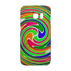 Colorful Whirlpool Watercolors                                                samsung Galaxy S6 Edge Hardshell Case by LalyLauraFLM