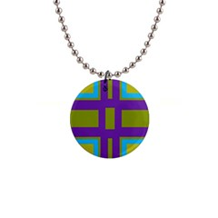 Angles And Shapes                                                 1  Button Necklace by LalyLauraFLM