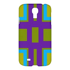 Angles And Shapes                                                 samsung Galaxy S4 I9500/i9505 Hardshell Case by LalyLauraFLM