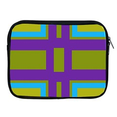 Angles And Shapes                                                 apple Ipad 2/3/4 Zipper Case by LalyLauraFLM