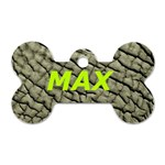 MAX - Dog Tag Bone (Two Sides)
