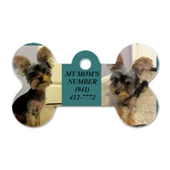Max By Tina   Dog Tag Bone (two Sides)   25hd1ui7ldxe   Www Artscow Com Back
