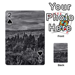 Ecuador Landscape Scene At Andes Range Playing Cards 54 Designs  by dflcprints