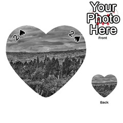 Ecuador Landscape Scene At Andes Range Playing Cards 54 (heart)  by dflcprints