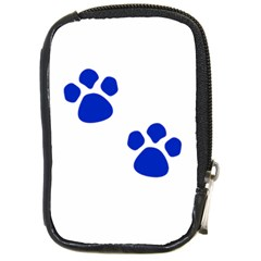 Blue Paws Compact Camera Cases by TRENDYcouture