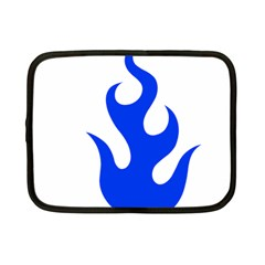 Blue Flames Netbook Case (small)  by TRENDYcouture