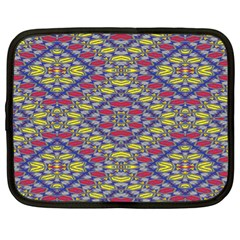 Colorful Duck Netbook Case (xl)  by MRTACPANS