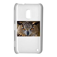 Great Horned Owl 1 Nokia Lumia 620 by jackiepopp