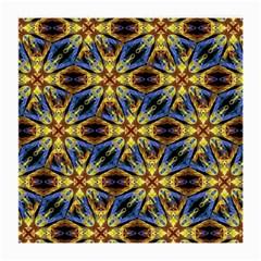 Vibrant Medieval Check Medium Glasses Cloth by dflcprints