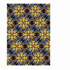 Vibrant Medieval Check Large Garden Flag (two Sides) by dflcprints