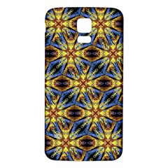 Vibrant Medieval Check Samsung Galaxy S5 Back Case (white) by dflcprints